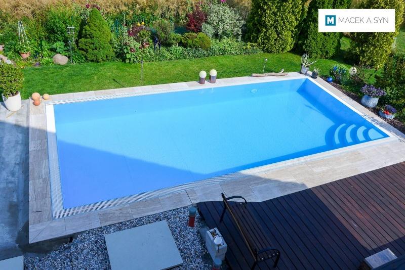 Swimming pool  4 x 9 x 1,3m, Krostitz, Saxony, Germany, Realization 2014