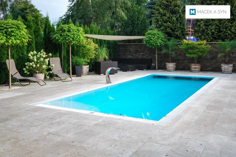 Swimming pool 3,2 x 7,5 x 1,5m, Reichenberg, Saxony, Germany, Realization 2013