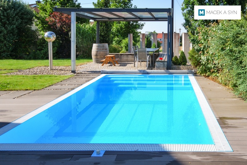 Swimming pool  3,2 x 6 x 1,3m, Hofstetten, Bavaria, Germany, Realization 2014