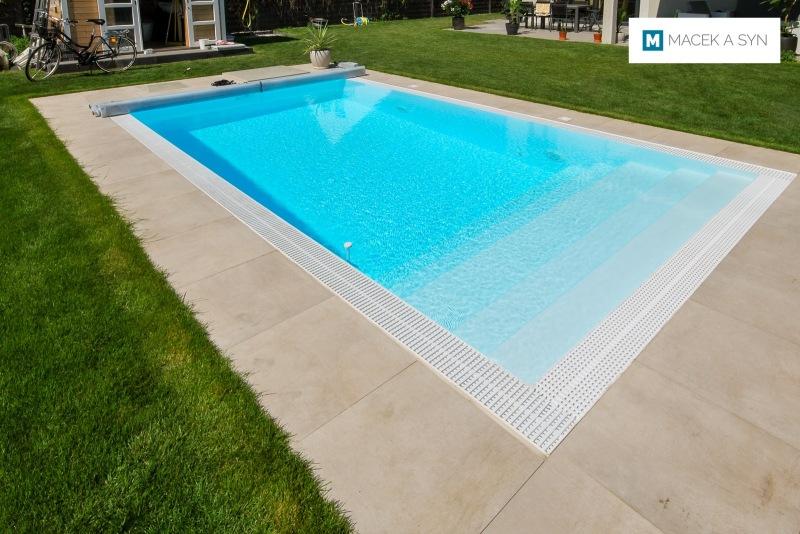 Swimming pool 3,2 x 6 x 1,4m, Berlin, Germany, Realization 2016