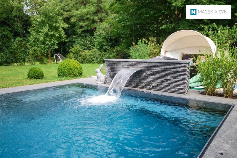 Swimming pool 3,75 x 11 x 1,5m, Markkleeberg, Saxony, Germany, Realizaton 2015