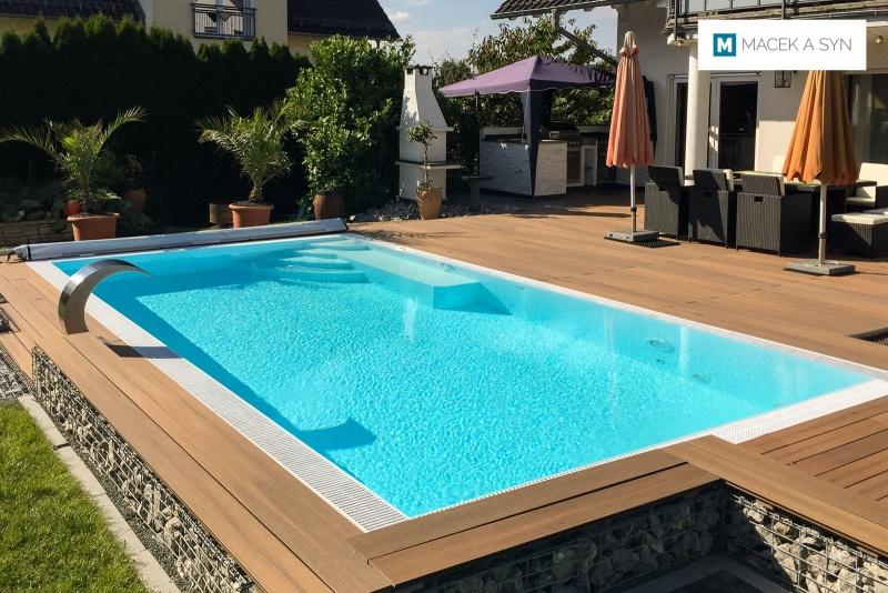 Swimming pool 3,5 x 7 x 1,3m, Hohenahr, Hesse, Germany, Realization 2017