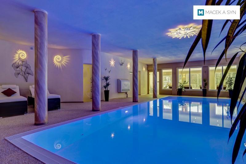 Swimming pool 4,3 x 10 x 1,4m, Wellness Hotel Auszeit, Achslach, Bavaria, Germany, Realization 2017