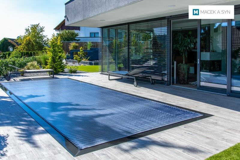 Swimming pool 3 x 7,6 x 1,4m, Lorch, Baden-Wurtemberg, Germany, Realization 2019