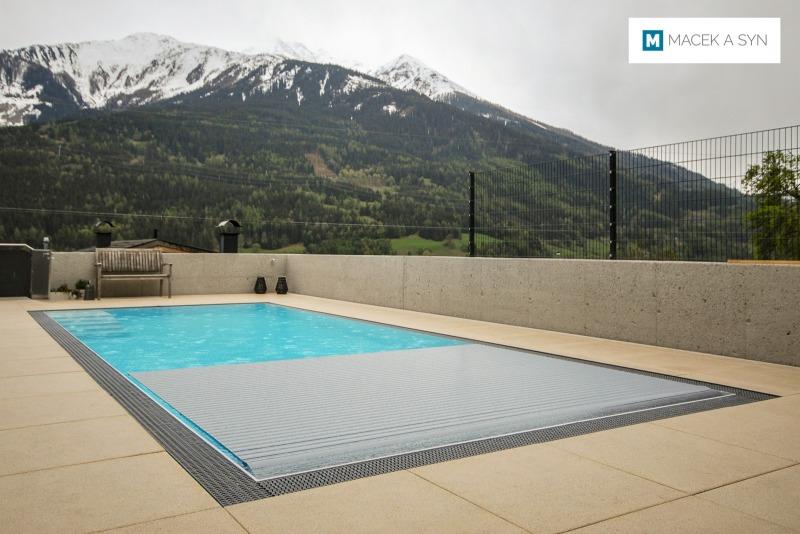 Swimming pool 3,4 x 8,5 x 1,4m, Silz, Austria, Realization 2019