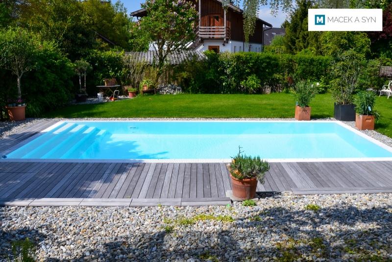 Swimming pool 3,5 x 8 x 1,4m, Atlach, Austria, Realization 2017