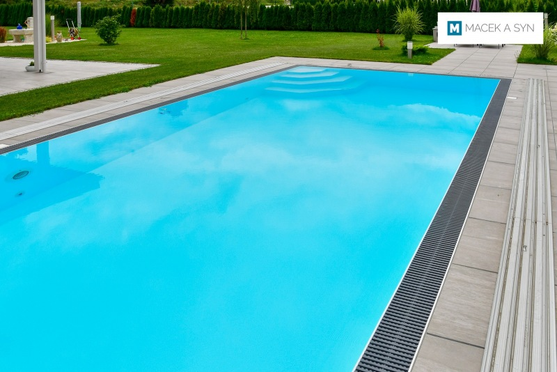 Swimming pool 4 x 8 x 1,5m, Arnoldstein, Austria, Realization 2018