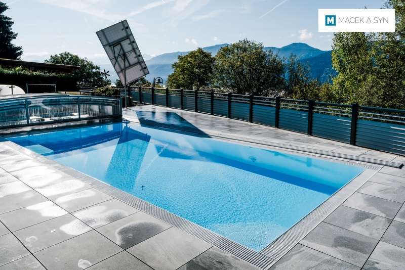 Swimming pool  8x3,5x1,45m, Kerschdorf, Austria, Realization 2016