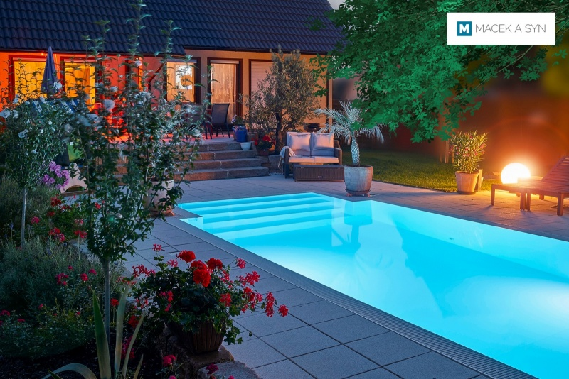 Swimming pool  3,2x6x1,5m, Langendorf, Saxony, Germany, Realization 2012