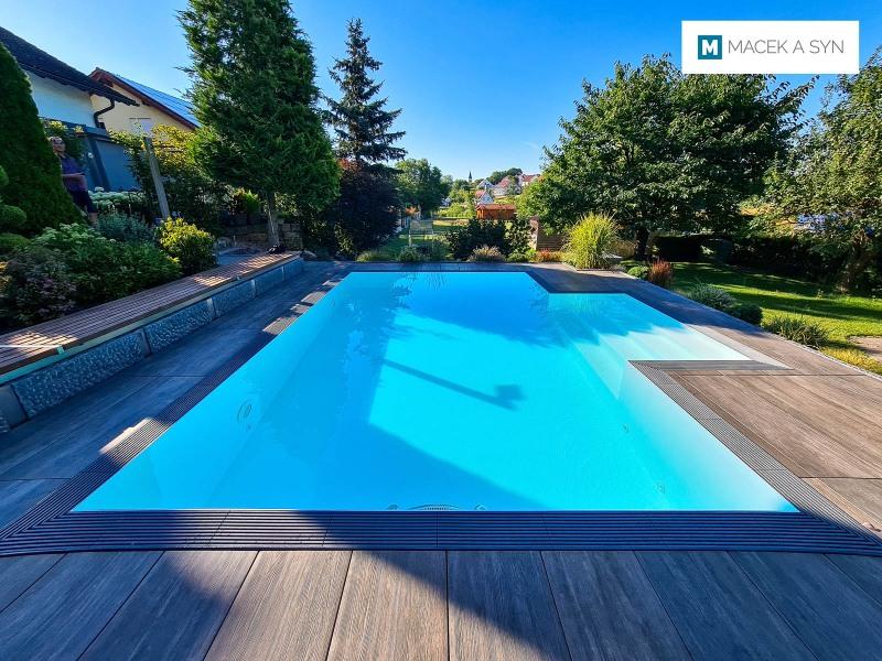 Swimming pool 6m*3,5m*1,6m, Gundelsheim, Germany, Realization 2017