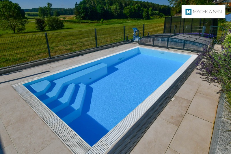 Swimming pool 5,9m*3m*1,4m, Heilsbronn, Germany, Realization 2016
