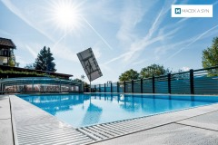 Swimming pool  8x3,5x1,45m, Kerschdorf, Austria, Realization 2016