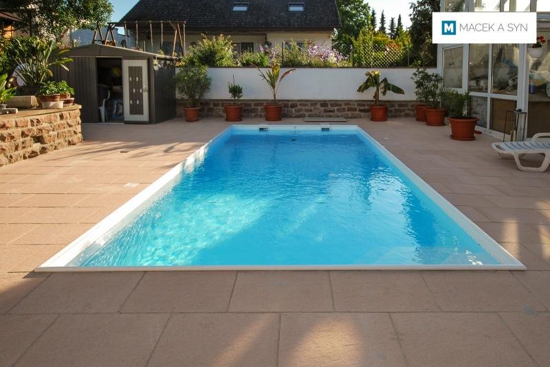 Swimming pool 3,2 x 7 x 1,35m, Löchgau, Baden-Württemberg, Germany, Realization 2014