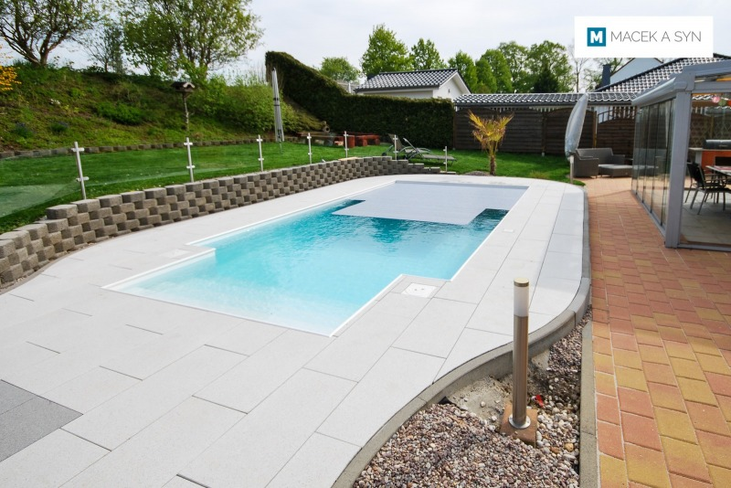 Swimming pool 3,5 x 6 x 1,2m, Gößnitz, Thuringia, Germany, Realization 2016