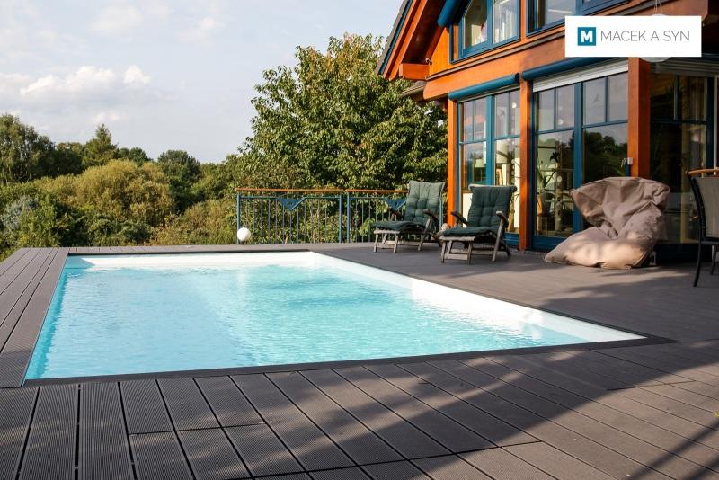 Swimming pool  3,25 x 6,5 x 1,4m, Koblenz, Rhineland-Palatinate, Germany, Realization 2017