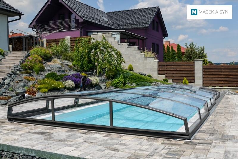 Swimming pool 3,25 x 6 x 1,35m Těmice, Czechia, Realization 2017