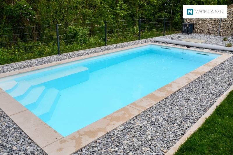 Swimming pool 3,3 x 7 x 1,5m, Ingolstaadtt, Bavaria, Realization 2018