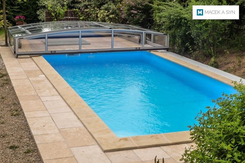 Swimming pool 3,5 x 7 x 1,4m, Hesperange, Luxemburg, Realization 2010