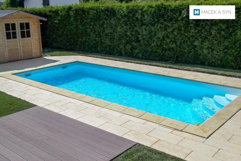 Swimming pool 3 x 7 x 1,5m, Bad Krozingen, Baden-Württemberg, Germany, Realization 2013