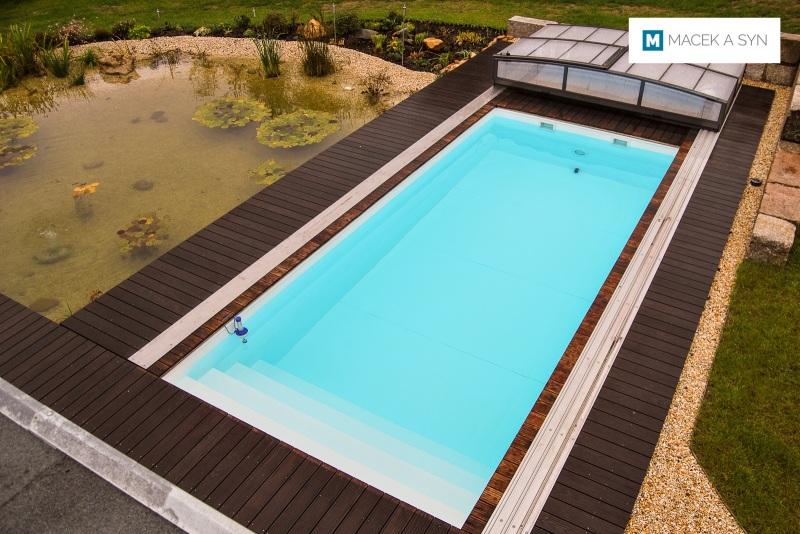 Swimming pool 3 x 7 x 1,5m, Zwickau, Saxony, Germany, Realization 2013