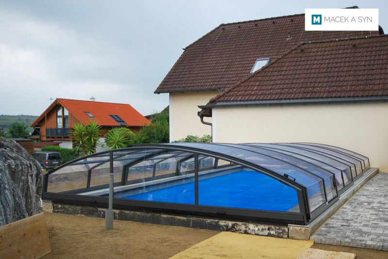 Roofing Imperia NEO light 4,5 x 8,5 x 1,05m, anthracite color, Legenfeld, Lower Austria, Realizetion 2014