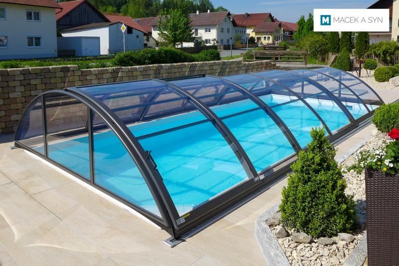 Roofing Azure Kompakt 3,25 x 7,1 x 1,1m, anthracite color, Moosthenning, Lower Bavaria, Germany, Realization 2017
