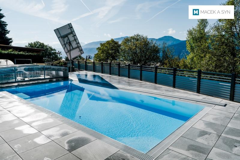 Roofing Viva 4,25 x 8,5 x 0,8m, silver color, Silberfarbe, St. Georgen, Austria, Realization 2017