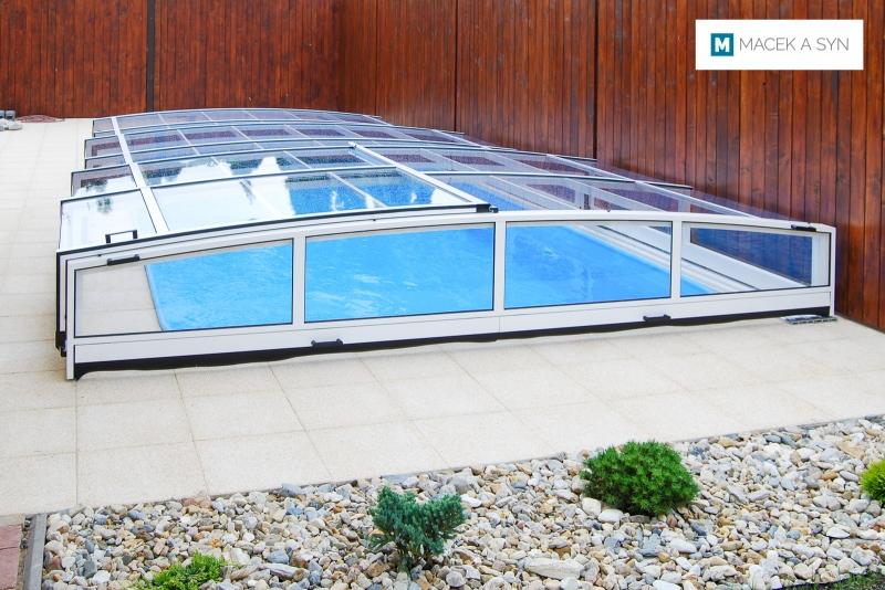 Roofing Viva 3,25 x 7,2 x 0,62m, silver color, Prostějov, Czechia, Realization 2011